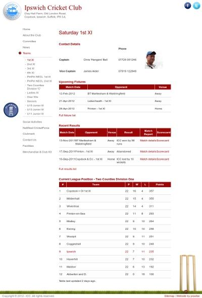 Ipswich Cricket Club